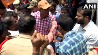 BJP Yuva Morcha Protests Over Errors in Telangana Intermediate Results
