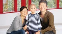 Riku's Treatment Includes Proton Therapy And Chemotherapy