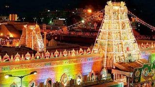Tirumala Tirupati Temple Open or Not? 140 Staffers Test COVID Positive, Temple Board Says No Plan to Shut; Honorary Chief Priest Raises Concern