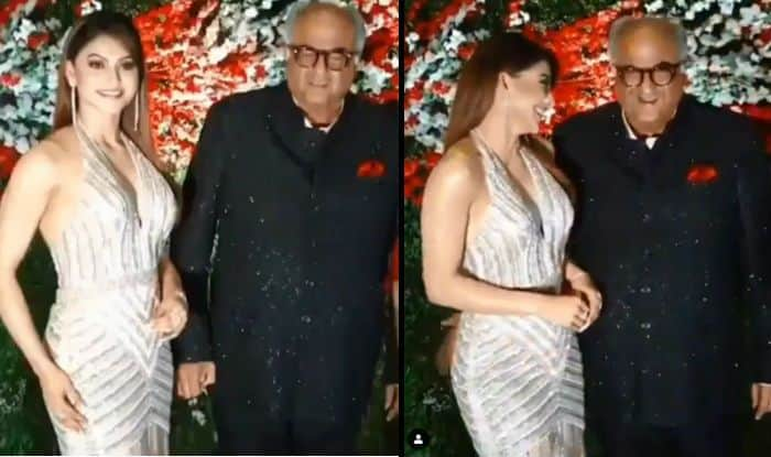 Urvashi Rautela Criticises News Report Claiming Boney Kapoor Touched Her Inappropriately at a Wedding Party – Video