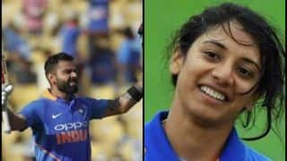 India Sweeps Wisden Cricketers' Almanack as Virat Kohli, Smriti Mandhana Win Top Prizes