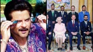 Majnu Bhai Mysteriously Photobombs Virat Kohli's Group Photo With Queen Elizabeth Ahead of ICC World Cup 2019, Anil Kapoor's Reaction is Unmissable | POST