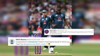 Jofra Archer Picked as England Announce 15-Man World Cup 2019 Squad, Twitter Hails ECB's Bold Move | SEE POSTS