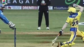 MPL 2019: Subramanian Does a MS Dhoni-Like Quick Stumping During SoBo SuperSonics vs Aakash Tigers | WATCH VIDEO