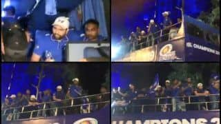 IPL 2019: Rohit Sharma, Yuvraj Singh Lead Champions Parade After Mumbai Indians Beat Chennai Super Kings to Clinch Record Fourth Title | WATCH VIDEO