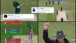 Eng vs Pak: Mohammed Hafeez Leg Before Wicket During 5th ODI Between England And Pakistan Creates Controversy, Twitter Feel it Was Poor Umpiring | WATCH VIDEO AND SEE POSTS