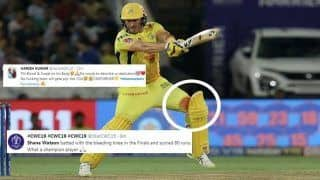 IPL 2019: Bleeding Shane Watson Wins Twitter After His Effort During Mumbai Indians vs Chennai Super Kings Final | WATCH VIDEO AND SEE POSTS