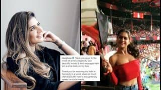 'Thank You, Guys': RCB Fangirl is Back, REVEALS Reason Behind The Smile | READ FULL POST