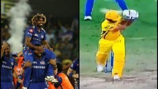 IPL 2019: Lasith Malinga Becomes Last Over Hero as he Scalps Shardul Thakur as Mumbai Indians Beat Chennai Super Kings in Final to Clinch Record Fourth Title | WATCH VIDEO