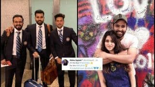 Rohit Sharma, Team India Leave For World Cup 2019; Wife Ritika Sajdeh Has a Motivational Message For India Opener | SEE POST