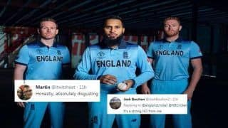 Awful! England Unveil New WC Kit, Fans Utterly Disappointed | POSTS