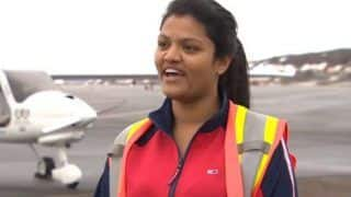 Mumbai Girl Becomes The First Woman to Cross Atlantic Ocean in Ultra-light Aircraft, Read Her Story Here