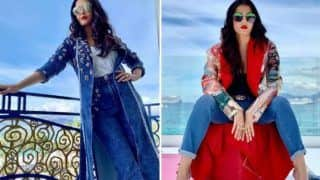 Aishwarya Rai Bachchan Slays Like a Lady Boss in All Denim Wear At Cannes Film Festival 2019