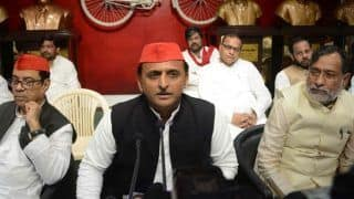 Akhilesh Holds Meeting With Senior SP Leaders After Exit Poll Results