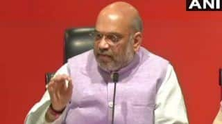 Home Minister Amit Shah Reviews Security in Naxal-hit States; Mamata, KCR Stay Away