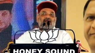 OROP Means 'One Rahul, One Priyanka' For Congress: Amit Shah at HP Rally