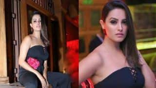 Television Sizzler Anita Hassanandani Looks Uber Hot in All Black Outfit at 'Peerh Meri' Launch Party
