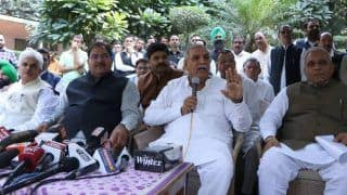 After Drubbing in LS Polls, INLD's Haryana Chief Ashok Arora Resigns