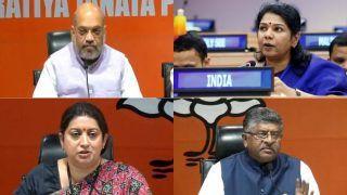 Amit Shah, Ravi Shankar Prasad, Kanimozhi Cease to be Rajya Sabha Members
