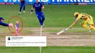 IPL 2019 Final: Twitterverse Confused as Shane Watson Dismissal Replay Not Shown During Mumbai Indians vs Chennai Super Kings Tie | SEE POSTS