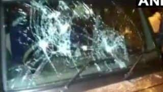 BJP Leader Mukul Roy, Dum Dum Candidate Samik Bhattacharya's Cars Attacked; TMC Blamed