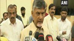 एन चंद्रबाबू नायडू ने आंध्र प्रदेश के मुख्यमंत्री पद से दिया इस्तीफा