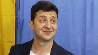 Ukranian Comedian Volodymyr Zelensky Sworn-in as President