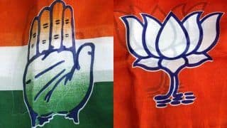 BJP Surges Ahead With 269 of 495 Seats in Early Trends, Cong Trails Far Behind With 51