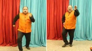Dancing Uncle Aka Sanjeev Shrivastava is Back With 'Khaike Pan Banaraswala', Big B Calls it Super