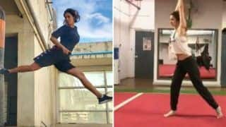Disha Patani Looks Super Hot as She Trains Herself in High-octane Butterfly Kick - Watch Viral Video