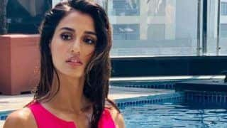 Disha Patani Looks Smoking Hot in Pink Monokini as She Strikes a Sultry Pose Near The Pool