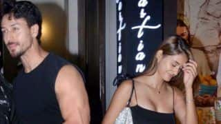 Bollywood Hot Couple Disha Patani And Tiger Shroff Twin in Black For Dinner Date - See Pics