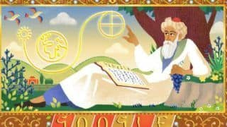 Google Honours Renowned Mathematician, Astronomer And Poet Omar Khayyam With Creative Doodle