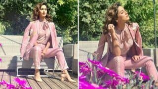 Cannes 2019: Hina Khan Glams it up in Pastel Pink Outfit as She Soaks Herself in The Sun at French Riviera