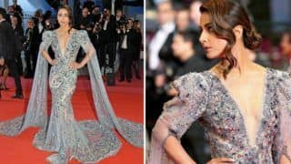 Cannes 2019: Hina Khan Walks The Red Carpet in Gorgeous Grey Gown at French Riviera And we Are Smitten