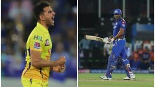 IPL 2019 Final: चाहर की घातक गेंदबाजी की बदौलत चेन्नई ने मुंबई को 149 रन पर रोका