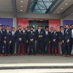VIDEO: इंग्लैंड पहुंची टीम इंडिया, सोशल मीडिया पर छाए क्रिकेटर