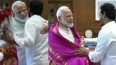 वाईएसआर कांग्रेस प्रमुख जगनमोहन रेड्डी ने की पीएम नरेन्द्र मोदी से की मुलाकात