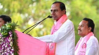 IANS-CVOTER Exit Poll Predicts TRS Will Get 14 Out of 17 Seats in Telangana