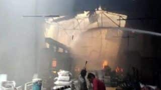 Kanpur: Fire Breaks Out at Factory in Dada Nagar Area; No Casualties Reported