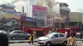 Kerala: Fire Breaks Out in Commercial Building at MG Road in Thiruvananthapuram, no Injuries Reported