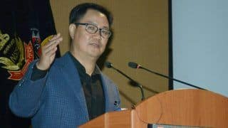 Union Sports Minister Kiren Rijiju Hopes India's Shooting Talent to Get Reflected in 2020 Tokyo Olympics