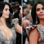 Cannes 2019: Mallika Sherawat Walks The Red Carpet in Tony Ward Couture at French Riviera - See Pics