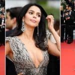 Mallika Sherawat Walks The Red Carpet in Tony Ward Couture at Cannes 2019