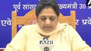 BJP Writes to EC Against Mayawati Over Violation of Model Code of Conduct