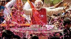 Today   s Chanakya Exit Poll Results: Modi Magic Continues as NDA Likely to Clean Sweep With 340 Seats