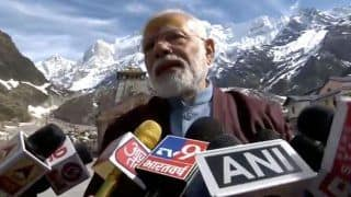 PM Modi Thanks EC For Granting Him Permission to Visit Kedarnath Shrine