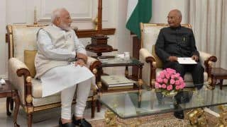 PM Modi Meets President Kovind, Tenders Resignation of Council of Ministers