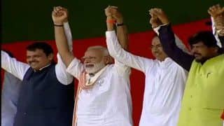 NDA Projected to Win 34 Seats in Maharashtra: IANS-CVOTER Exit Poll