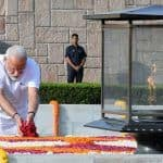 Modi Pays Tributes to Mahatma Gandhi, AB Vajpayee Ahead of Swearing-in